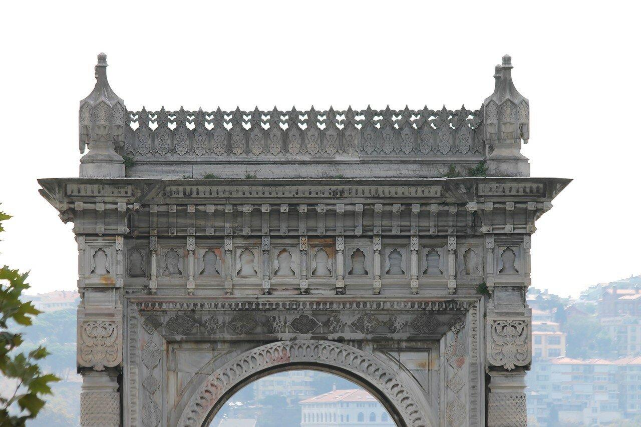 Istanbul. Дворец Чираган (Çırağan Sarayı)