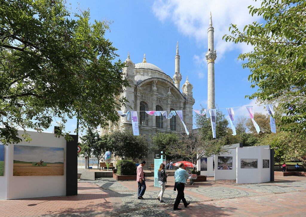 Стамбул. Мыс Ортакёй (Ortaköy sahil)