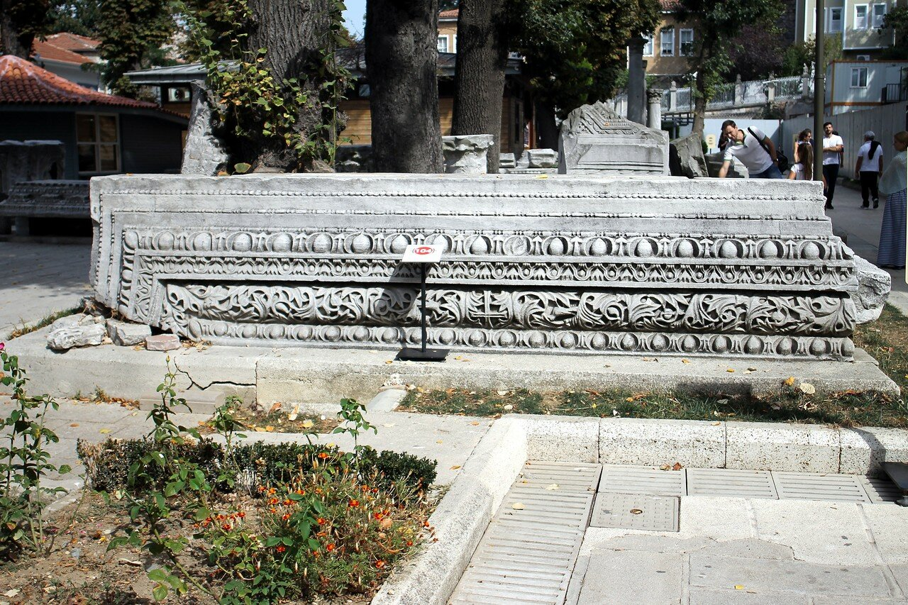 Стамбул. Собор Святой Софии (Ayasofya Camii). Атриум