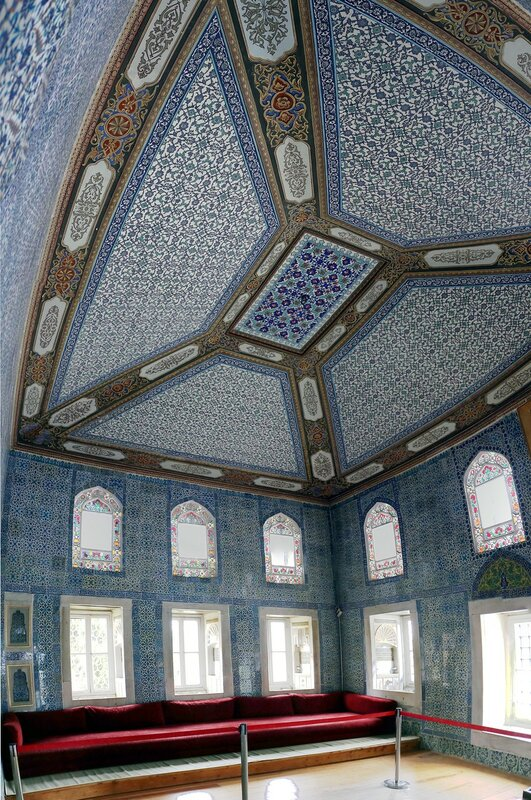 Стамбул. Летний павильон, комната обрезания (Yazlik Oda, Sünnet Odası)