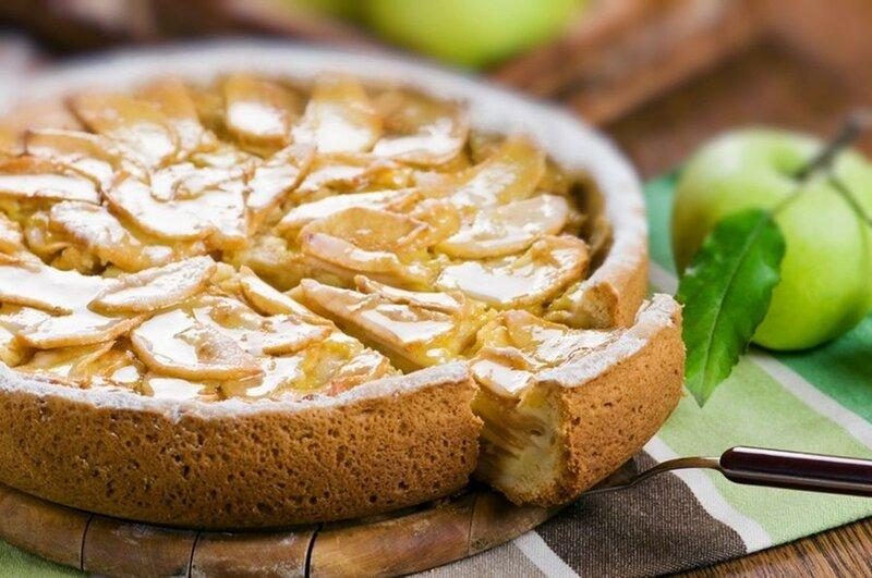 Яблочный пирог «Надежда»   простой и очень вкусный