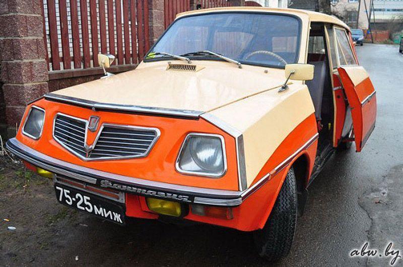 В 70-х годах машина выглядела не хуже серийных автомобилей того времени, а в чем-то даже и выигрывал
