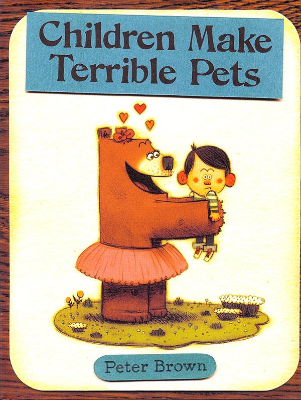 «Из детей получаются ужасные домашние животные». Вот уж действительно.