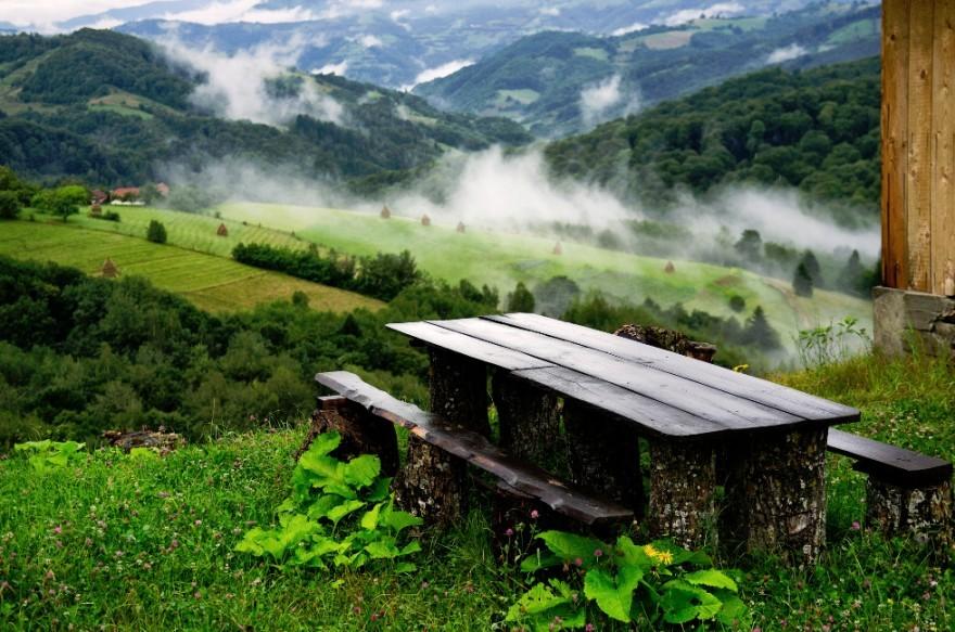 31. Утром в румынском селе. (Фото: mega002)