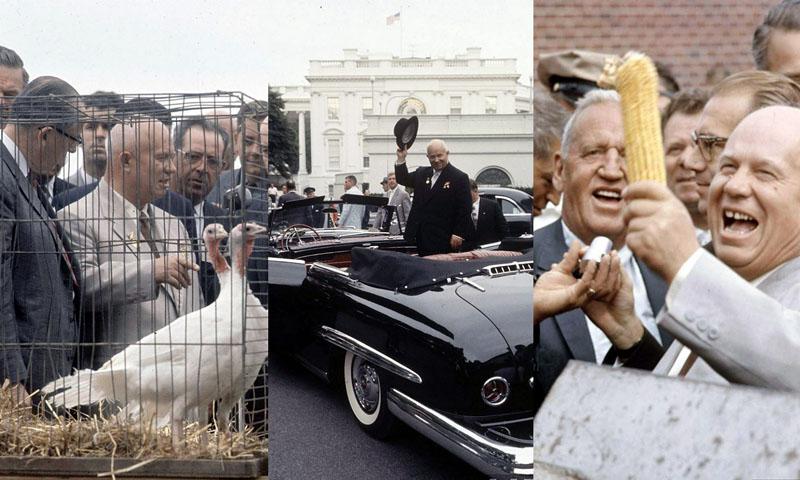 Визит Хрущёва в Америку, 1959 год (23 фото)