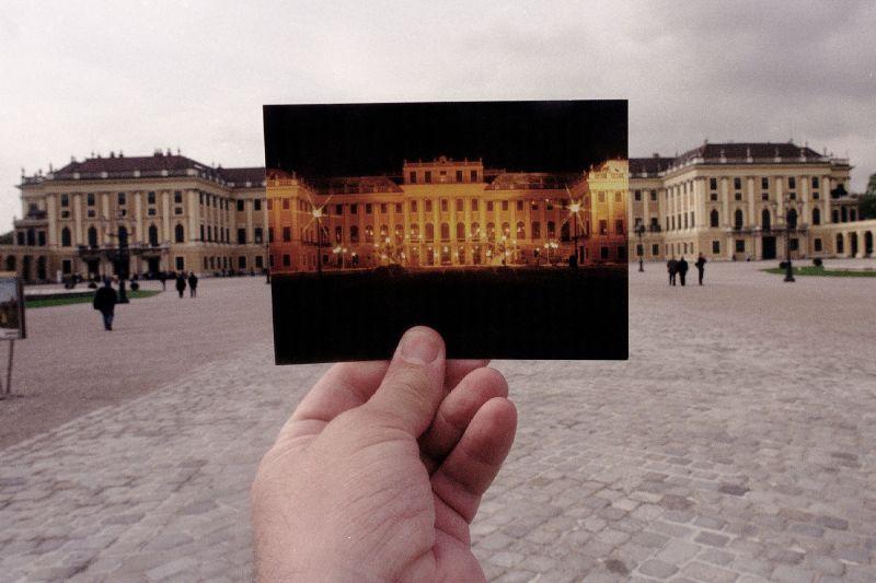 14. Дворец Шёнбрунн в Вене.