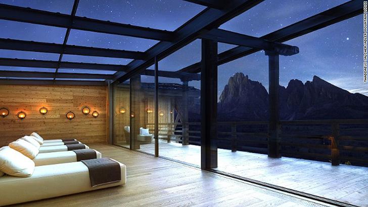 В Adler Mountain Lodge буквально все направлено на максимальное единение с природой. В основном корп