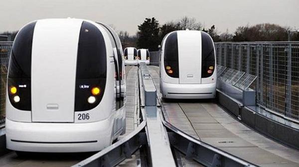 На данный момент эти транспортные средства ездят по 650-метровому маршруту в районе Business Ba