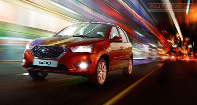 В РФ начались продажи седана Datsun сАКП: известны цены