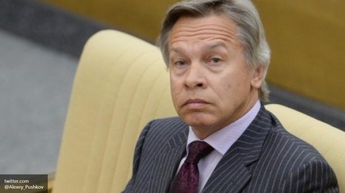 Пушков возглавил комиссию Совфеда повзаимодействию соСМИ