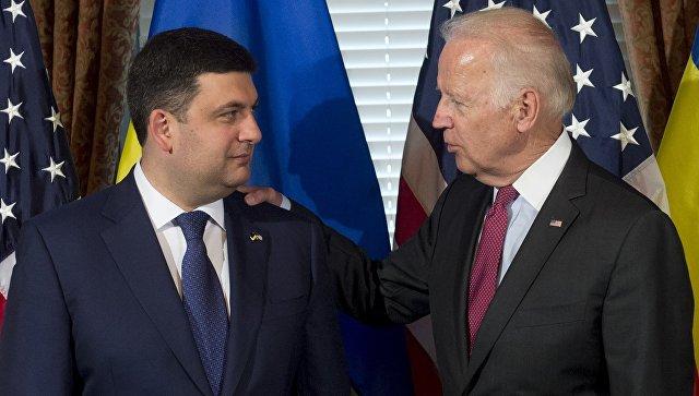 Байден обсудил слидерами государства Украины систему электронного декларирования активов