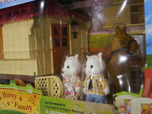 Карета-домик Happy Family 012-05 котята.JPG