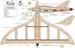 Чертеж модели самолёта Xelio