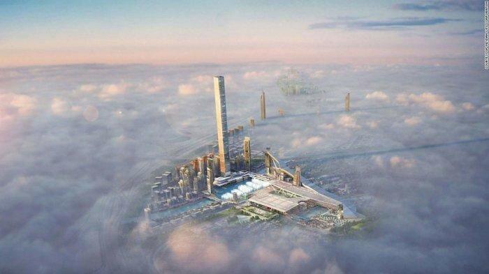 Города будущего   10 потрясающих архитектурных проектов мира