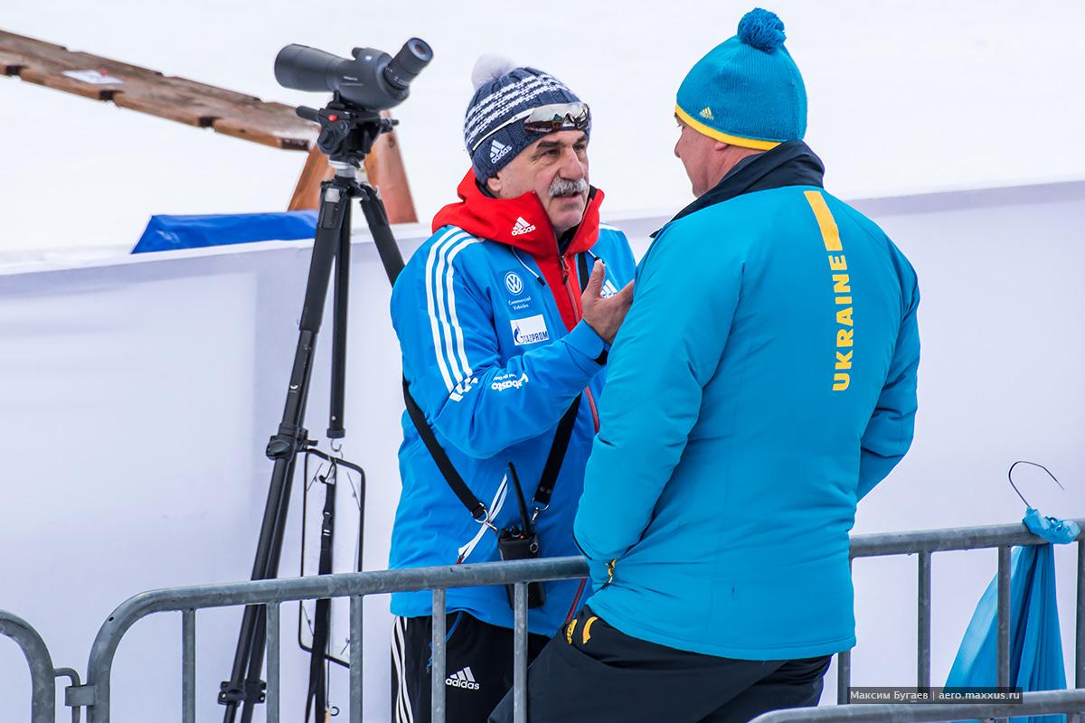 Рупольдинг 2015. Антон Бабиков впервые на Кубке мира. Фото Максима Бугаева