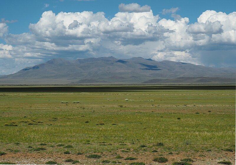 Россия, Алтай, Чуйская степь (Russia, Altai, Chui steppe)