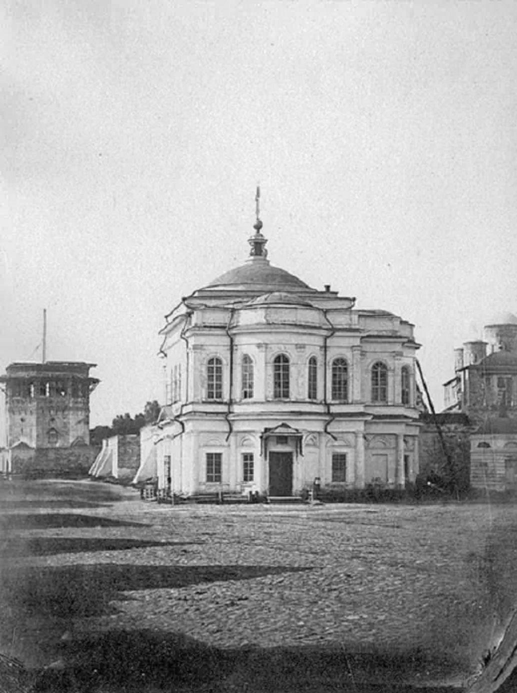 Восстановленная Смоленская церковь