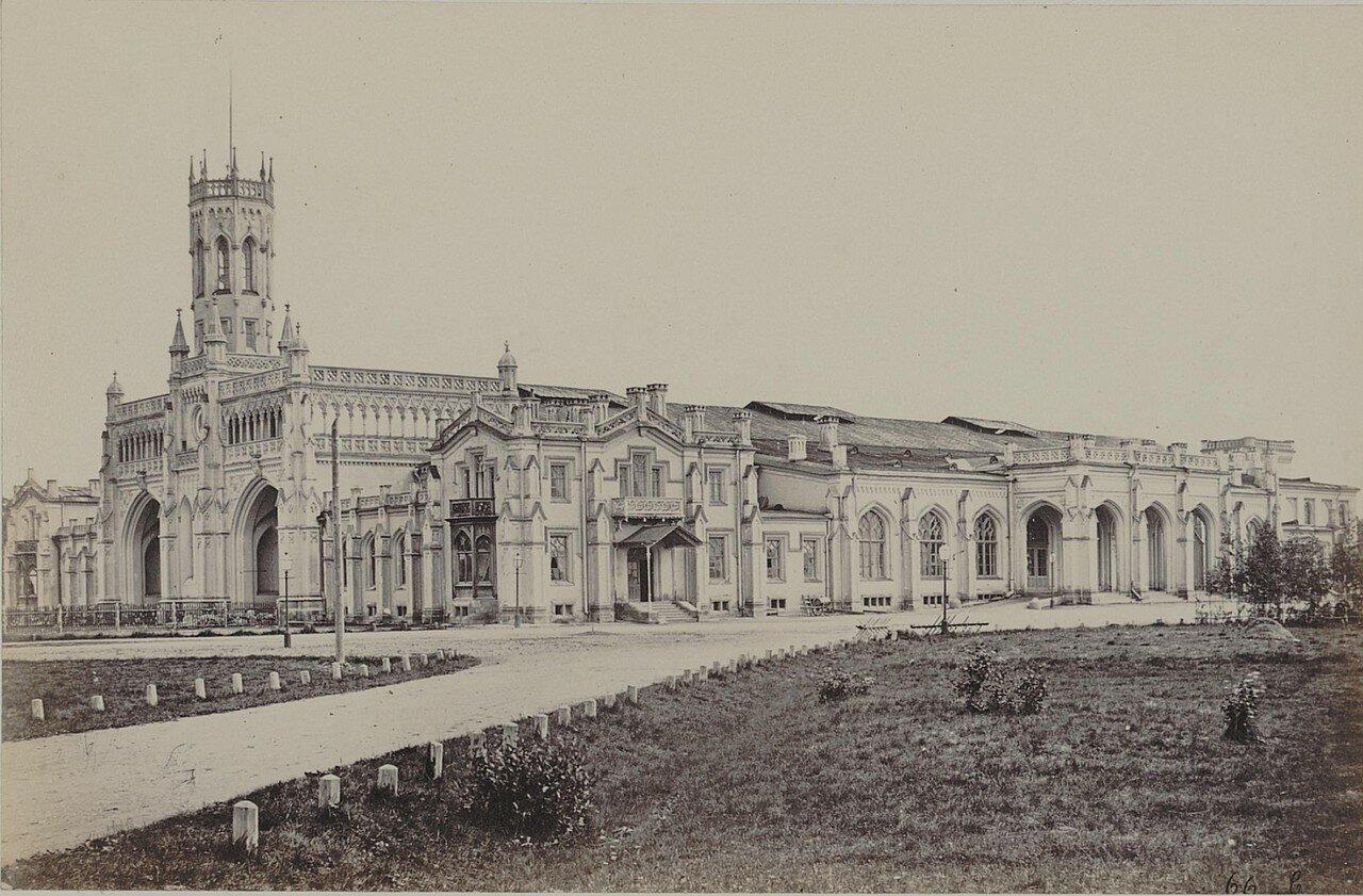 31. Вокзал Петергофской железной дороги