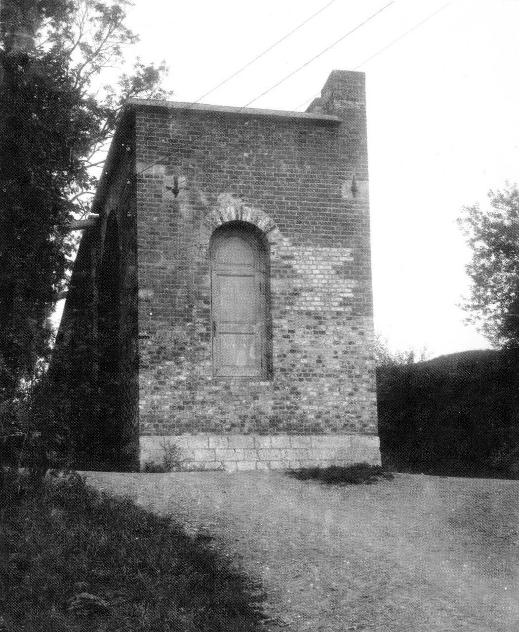Торец крепостной стены в Лопатинском саду. 1912