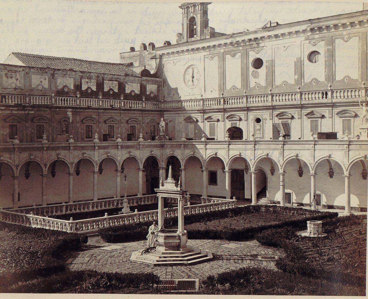 61. Картезианский монастырь святого Мартина. Прокураторский клуатр