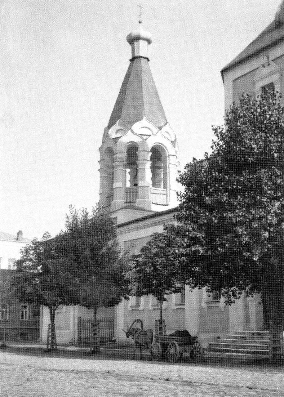 Колокольня Ильинской церкви. 1908