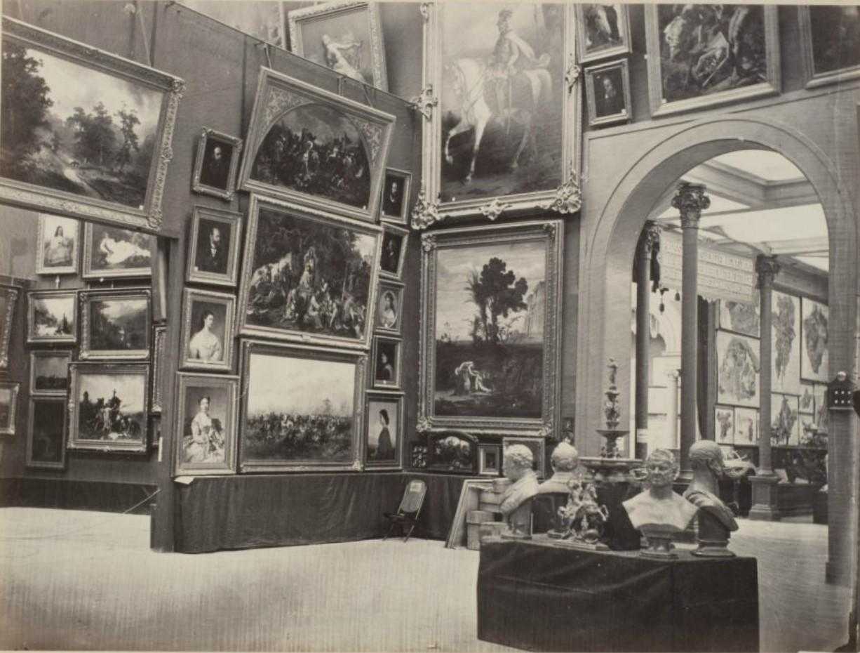 11. Раздел изящных искусств. Экспозиция Австрии