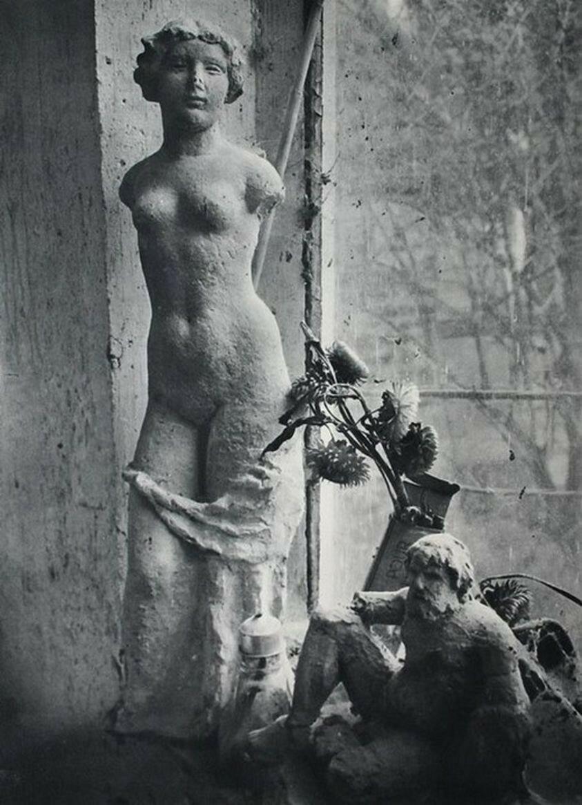 1937. Студия скульптор Аристид Майоль