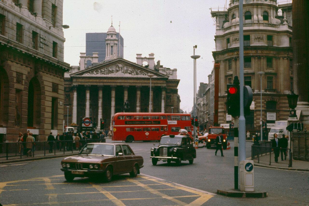 Лондон. Банк Англии
