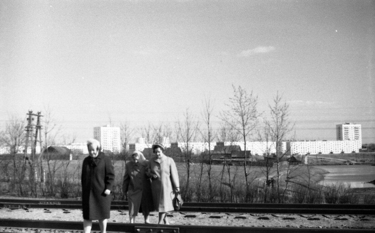 1967. Деревня Терёшково