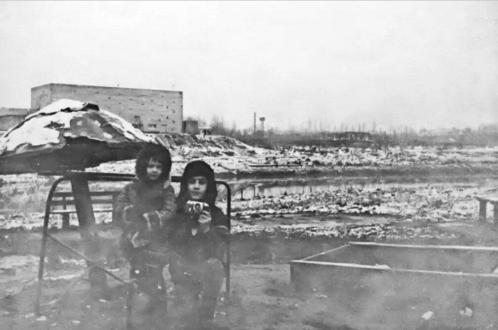 1978. У речки Сетуньки на Боровском шоссе