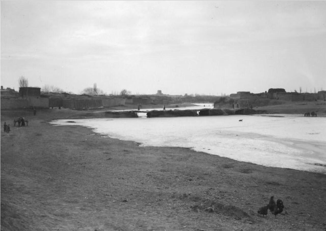 Маралбаши. Вид с реки