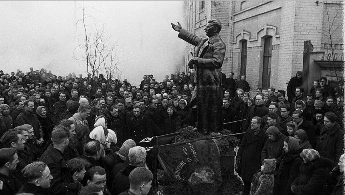 Траурные мероприятия, посвященные И.В. Сталину
