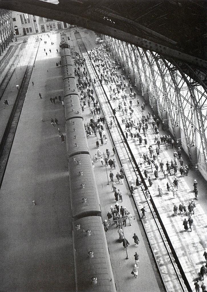 Редкие железнодорожные фото из прошлого