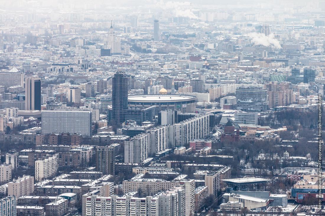 фотографии останкинская башня