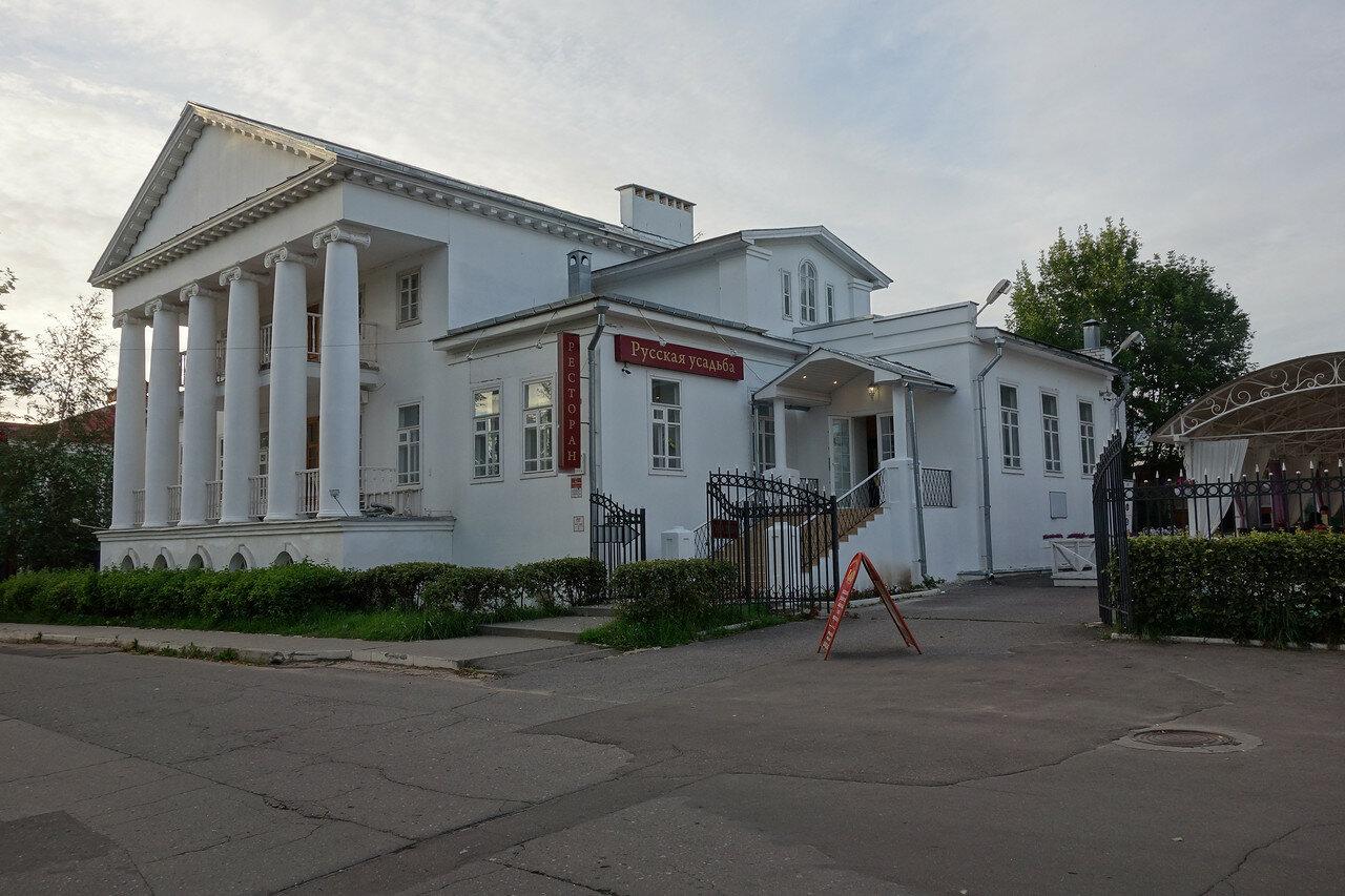 дом Переславцевых с колоннами, нач 19 век