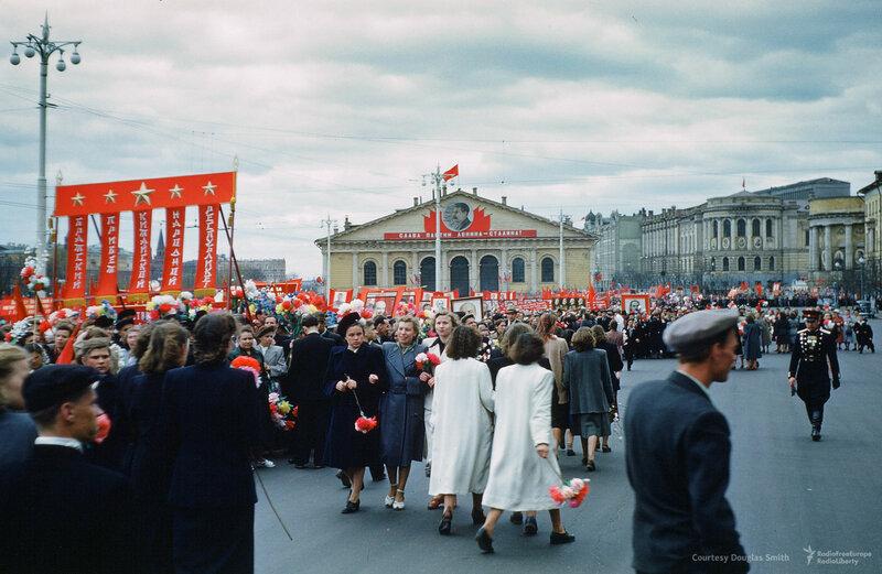 Манежная площадь в Москве, Martin Manhoff2.jpg