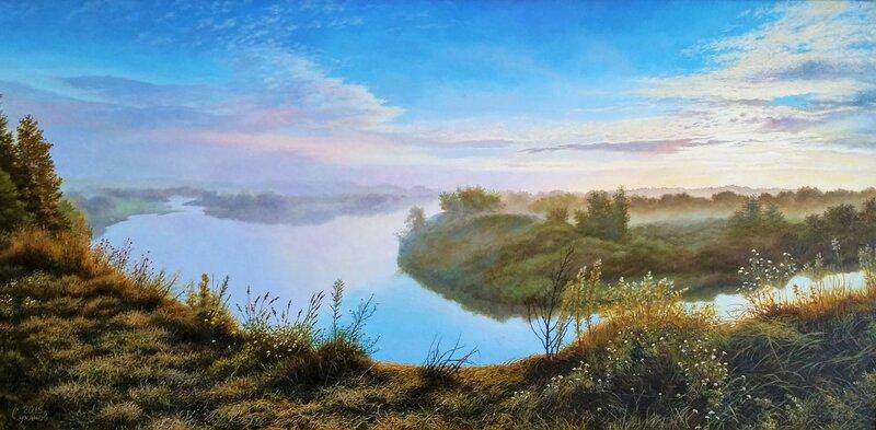 Утро на реке ...