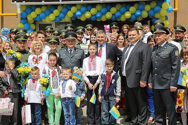 36 семей пограничников в Хмельницком получили квартиры. ФОТОрепортаж+ВИДЕО