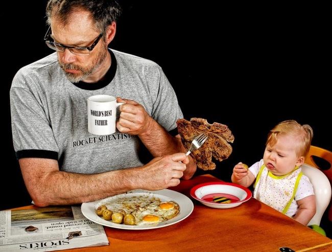 Дэйв Энглдоу лучший отец в мире
