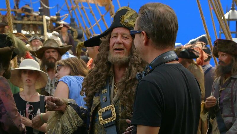 «Пираты 5». Фото со съемок фильма.