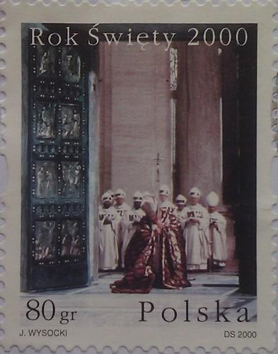 польша 2000 Rok Swiety 80