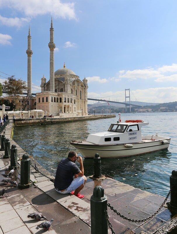 Стамбул. Площадь Ортакёй (Ortaköy Meydanı)