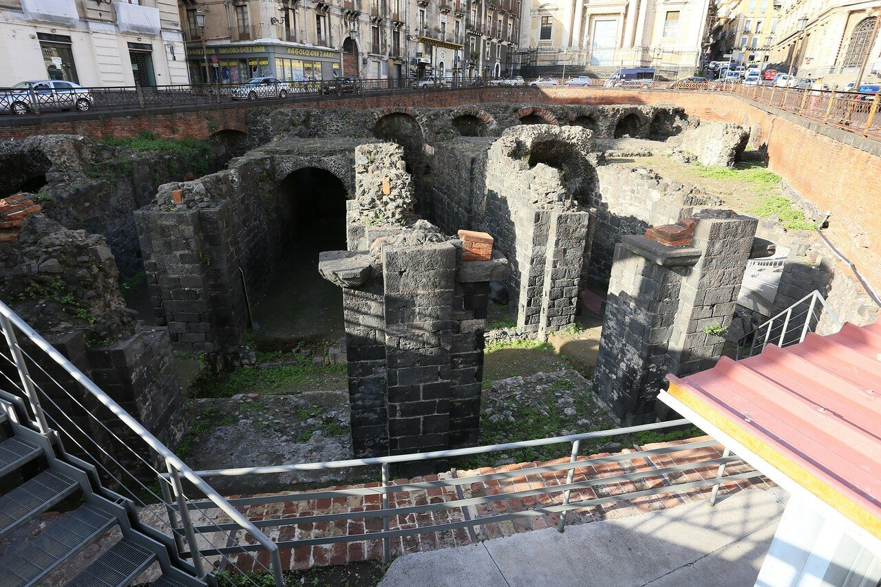Roman amphitheatre excavations, Catania