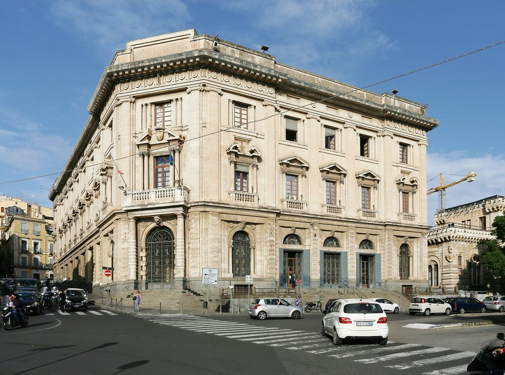 Palace of the exchange (Palazzo della Borsa), Catania