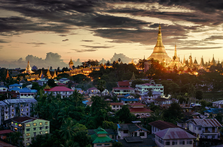 8. Пагода Шведагон.