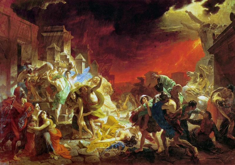 9 интереснейших фактов о древнем городе Помпеи (10 фото)