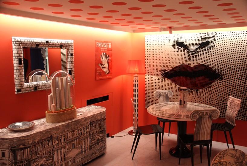 Новый магазин Fornasetti в Милане