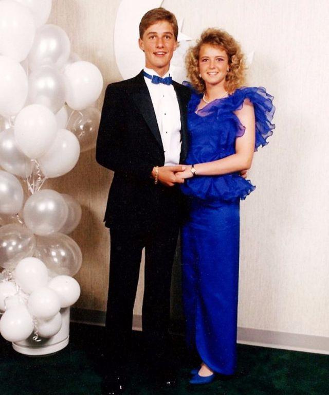 Даже в 1987 году, когда в моде были сумасшедшие наряды и прически, Мэттью Макконахи был настоящим кр