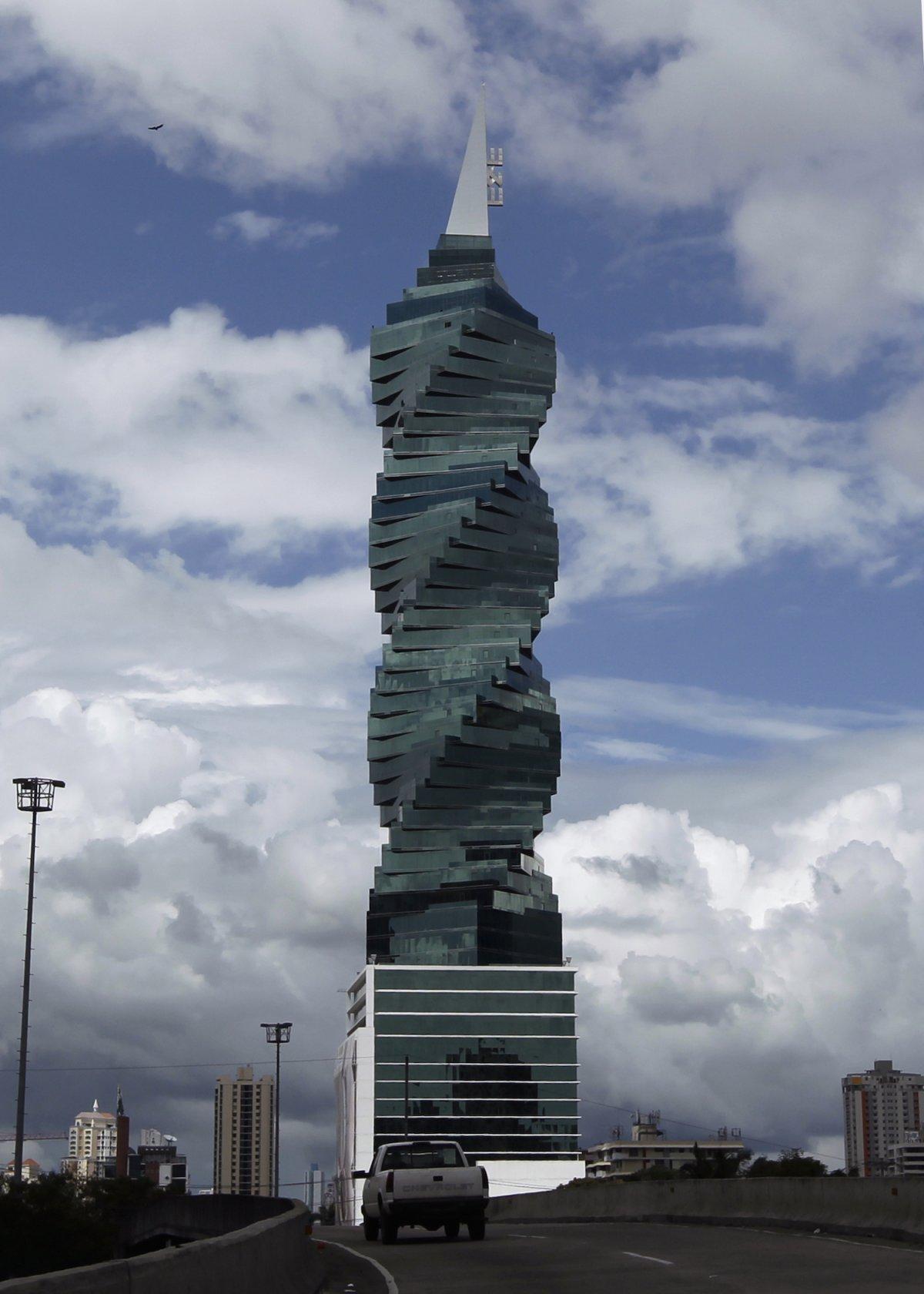F&F Tower (город Панама, Панама). Проектировщик — Pinzon Lozano and Associates. Высота — 232 метра.