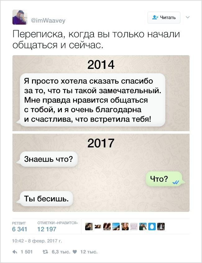12метких твитов оботношениях спарнем, которые знакомы каждой (10 фото)